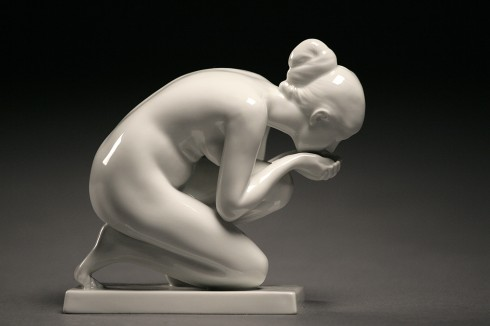 Female Nude | Art Deco | Porcelain