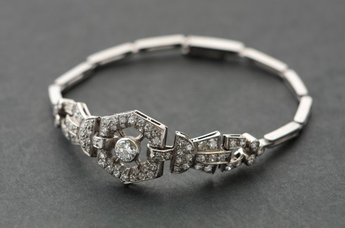 Art Deco Bracelet | Bohemia | Diamonds