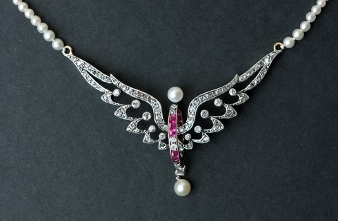 Diamond Necklace | Jewelry | Art Deco