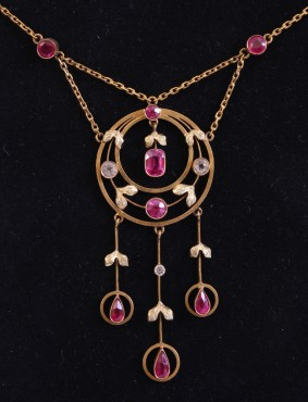 Spinel Necklace | Secession