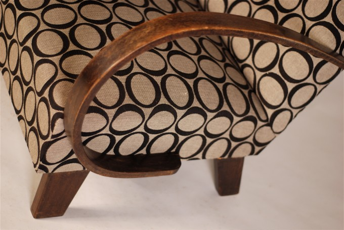Modern Armchair | Non renovated original armrests | 1928-1935