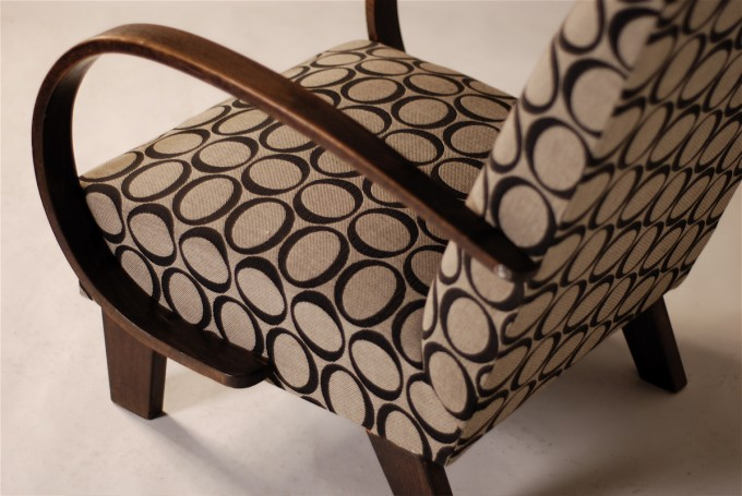 Modern Armchair | New Osborne & Little upholstery
