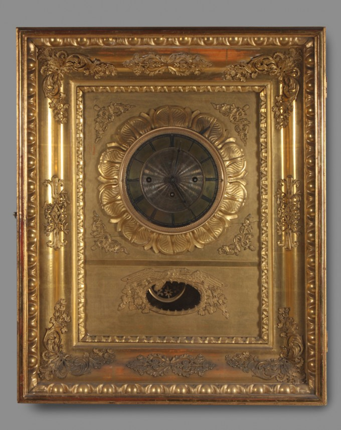 Empire Style Frame Clock