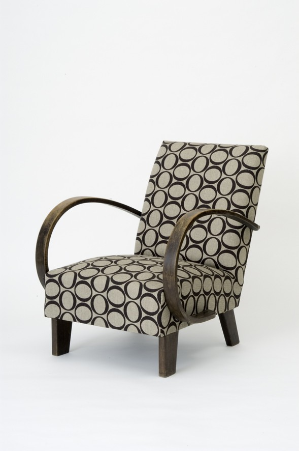 Modern Armchair | Original non renovated wooden frame | 1928-1935