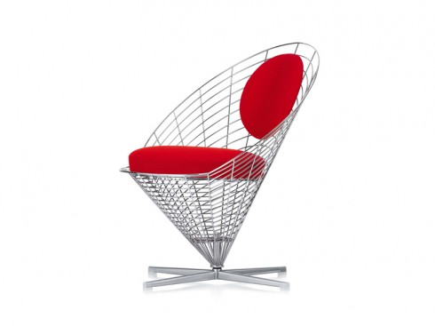 Verner Panton | Wire Cone Chair