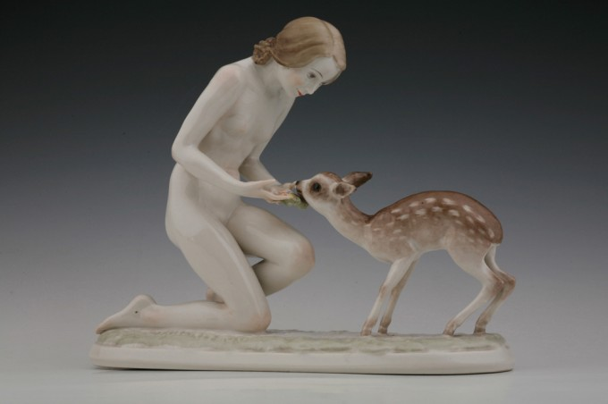 Good Friends - porcelain, around 1940