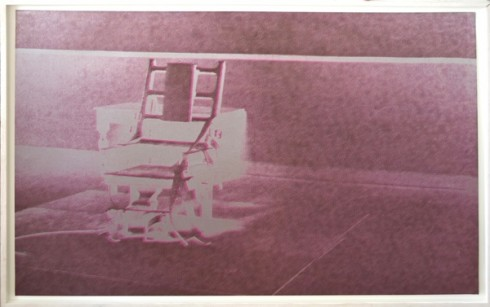 Andy Warhol | ELECTRIC CHAIR | 1971 |