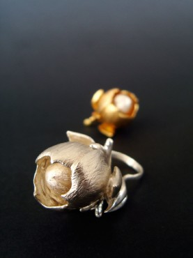 Janja Prokić | Flower Ring | jewellery