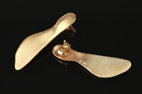 Maple Earrings - Gold | Hanuš Lamr